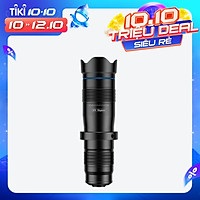 APEXEL APL-JS28X HD 28X Metal Single-tube Telescope Phone Telephoto Lens with Manual Focus for Most Smartphones for
