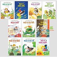 Sách - Combo Nhật Kí Thế Giới Côn Trùng (10 cuốn) - NXB Kim Đồng