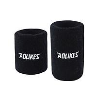 Cuốn cổ tay chơi thể thao Aolikes AL0235 - 8cm (1 đôi)