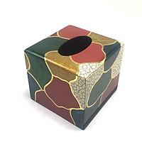 Hộp Khăn giấy vuông lập thể  HKGTBL01-1