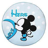 Gối Ôm Tròn Mickey Hôn GOCP052