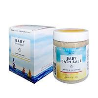 Muối tắm bé Tâm Dược Thảo 400g dòng sản phẩm Muối tắm bé thảo dược mới nhất của HTX Sinh Dược