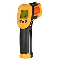 Máy đo nhiệt độ hồng ngoại kỹ thuật số công nghiệp cầm tay màn hình LCD smart sensor AS530 sử dụng cảm biến tặng kèm pin AAA