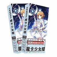 Postcard Sakura hộp ảnh anime 1803 món
