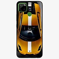 Ốp lưng dành cho Realme C12 mẫu Xe Sọc Trắng