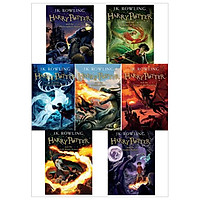 Combo Harry Potter - Complete Book Series (English Version)
