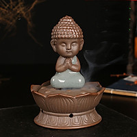 Tượng Phật Trầm Ngự Hoa Sen