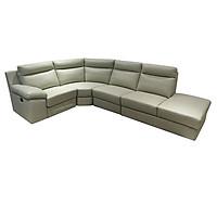 Sofa Da Góc Juno AARON 290 x 230 x 93 cm (Kem)