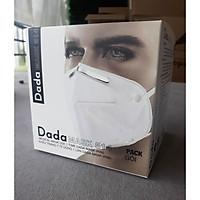 Khẩu trang y tế DaDa Mask VN95 514v - Hộp 5 cái màu trắng có van