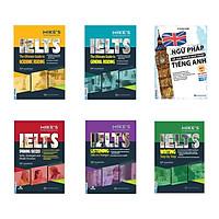 Bộ sách IELTS Mike's + Ngữ pháp và giải thích ngữ pháp tiếng Anh cơ bản và nâng cao 80/20 (Luyện thi Ielts toàn diện)
