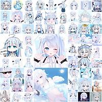 Ảnh dán Sticker Amatsuka uto 30-60 cái khác nhau/ tranh dán Hololive amatsuka uto