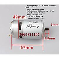 Motor 775 Power core 2 bạc đạn 22600 vòng
