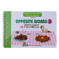 Những Cặp Từ Vựng Trái Nghĩa Và Trò Chơi Ghép Chữ - Opposite Words In Pictures (Tập 3)
