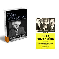 Combo 2 cuốn sách: Tiểu Sử  Ben-  Gurion  + Bộ Ba Xuất Chúng Hàn Quốc