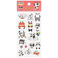 Bộ 3 Sticker Panda GUBHZMT03815 - Mẫu 3
