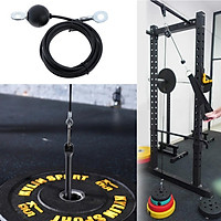 2Pcs Premium LAT Pulldown Cable Gym Cable Machine Triceps Blaster Rope Cables