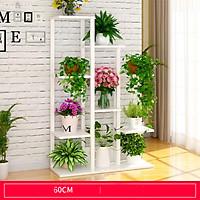Kệ cây cảnh trong nhà đa tầng trang trí phòng khách - Kệ để chậu hoa ban công decor đẹp cao 1m2