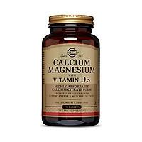Viên Uống Bổ Sung Canxi Và Vitamin Solgar Canxi Magie Vitamin D3