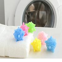 10 quả cầu gai giặt đồ giúp đánh bay mọi vết bẩn cứng đầu trên quần áo