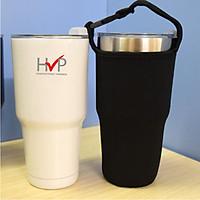 Ly giữ nhiệt HVP - Ly giữ nhiệt inox 304, dung tích 900ml - Màu trắng