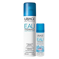 [Combo 2 in 1] 1 Chai Xịt Khoáng Uriage Thermal Water (300ml) VS 1 Chai Xịt Khoáng Uriage Thermal Water (50ml)