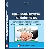 Luật Ngân Hàng Nhà Nước Việt Nam Luật Các Tổ Chức Tín Dụng - Quy Định Về Huy Động Vốn Vay Và Cho Vay Bảo Đảm An Toàn, Giữ Bí Mật Đối Với Khách Hàng