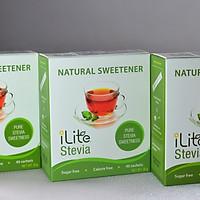 Combo 3 hộp đường cỏ ngọt tự nhiên - Đường ăn kiêng iLite từ Singapore
