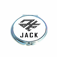 Gương cầm tay bỏ túi tiện lợi in logo Jack J97 K-ICM
