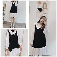 Đầm Babydoll Vintage Siêu Xinh - DA01