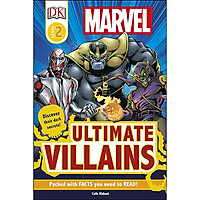 DK Reader Level 2: Marvel Ultimate Villains (Discover Their Dark Secrets) (Packed with FACTS you need to READ)