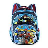 Balo học sinh cấp 1, nhiều hình mạnh mẽ cho bé trai, HAMI b1h2188 - hàng chính hãng, Hàng Việt Nam Chất lượng cao