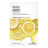 Mặt Nạ Giấy The Face Shop Real Nature Lemon Face Mask 32500393 (20g)