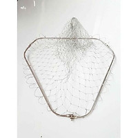 vành vợt cá inox , vành vợt tam giác full inox