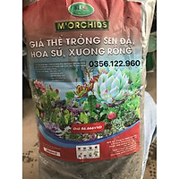 1kg giá thể đất trồng xương rồng, sen đá loại 1