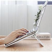 Giá đỡ tản nhiệt cho laptop, macbook, Ipad gấp gọn tiện dụng (màu ngẫu nhiên) - Hàng chính hãng