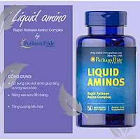 Viên uống giúp tăng cân, tăng sức đề kháng Liquid Aminos của Puritan's Pride