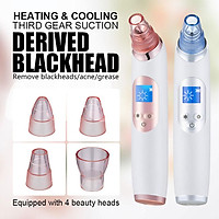Blackhead Remover Cold hot compress Vacuum Pore Cleaner Acne Comedones Removal Black Head Remover