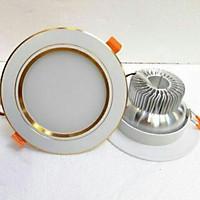 4 đèn led 03 mầu downlight âm trần 7W