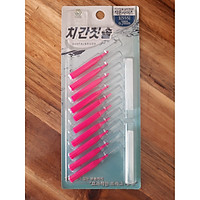 Bàn chải kẽ răng SGS loại I 10 cái/vỉ nhập khẩu Hàn Quốc