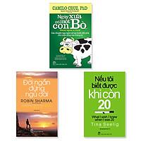 Combo 3 Cuốn : Đời Ngắn Đừng Ngủ Dài (Tái Bản) + Nếu Tôi Biết Được Khi Còn 20 (Tái Bản) + Ngày Xưa Có Một Con Bò...( Tái bản)