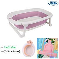 Chậu tắm gấp gọn tiện lợi dùng cho em bé