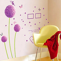 Decal dán tường tráng trí phòng khách, tiêm cafe- BCa hồng- mã sp DXL8010