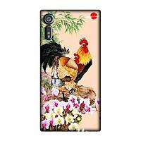 Ốp lưng dẻo hình con gà dành cho Sony Xperia XZ