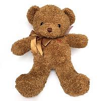 Thú nhồi bông gấu tăm nâu cao 50cm mềm mịn dành cho bé