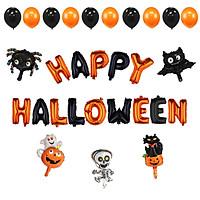 Set bong bóng trang trí Halloween