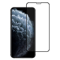 Miếng Dán Kính Cường Lực Cho Iphone 11 Pro Max - Màu Đen - Full Màn Hình - Hàng Chính Hãng