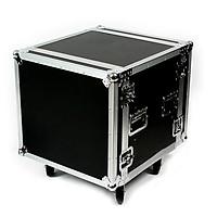 Tủ máy âm thanh 8U thiết kế chắc chắn có bánh xe hàng mới chuyên sân khấu, karaoke, nhà hàng tiệc cưới