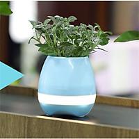 Loa bluetooth kiêm chậu trồng cây cảnh (xanh) K3