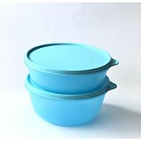 Bộ Hộp Bảo Quản Thực Phẩm Modular Bowl Tupperware, Set Tô Kín Khí, Kín Nước, Nhựa Nguyên Sinh An Toàn