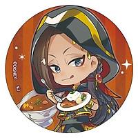 Huy hiệu in hình TWISTED WONDERLAND ver SCARABIA game anime dễ thương xinh xắn cài áo trang trí